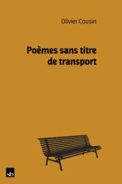 Poèmes sans titre de transport